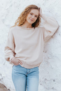 Saylor Knit Sweater Top