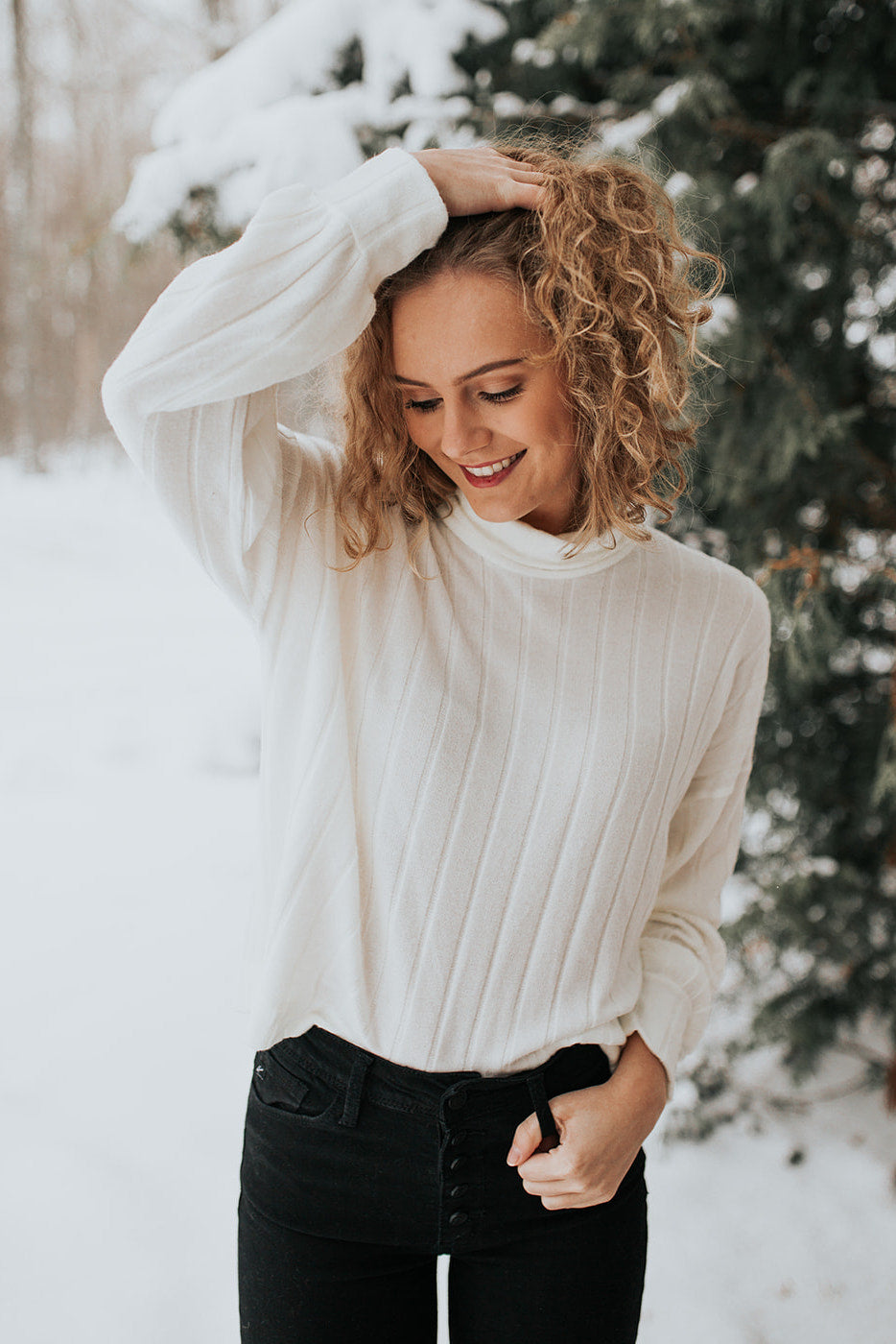 The Jessie Turtleneck Sweater Top