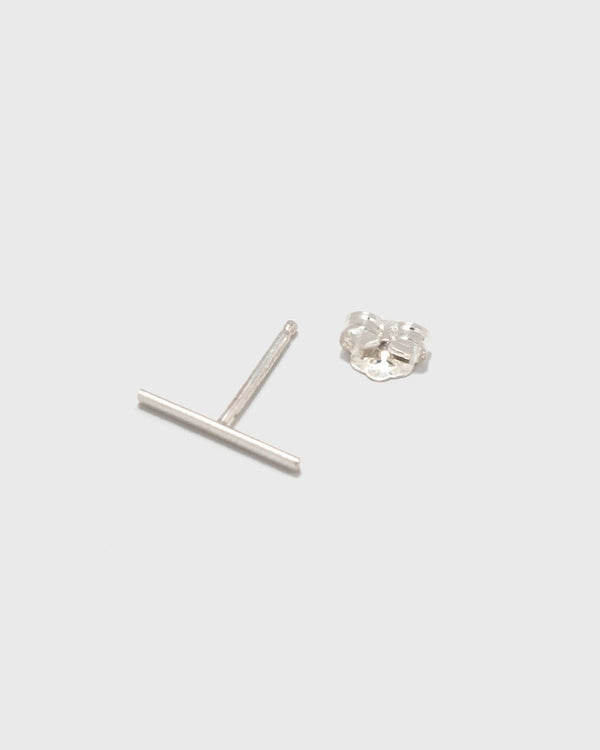 Kathleen Whitaker Long Staple Stud- Sterling