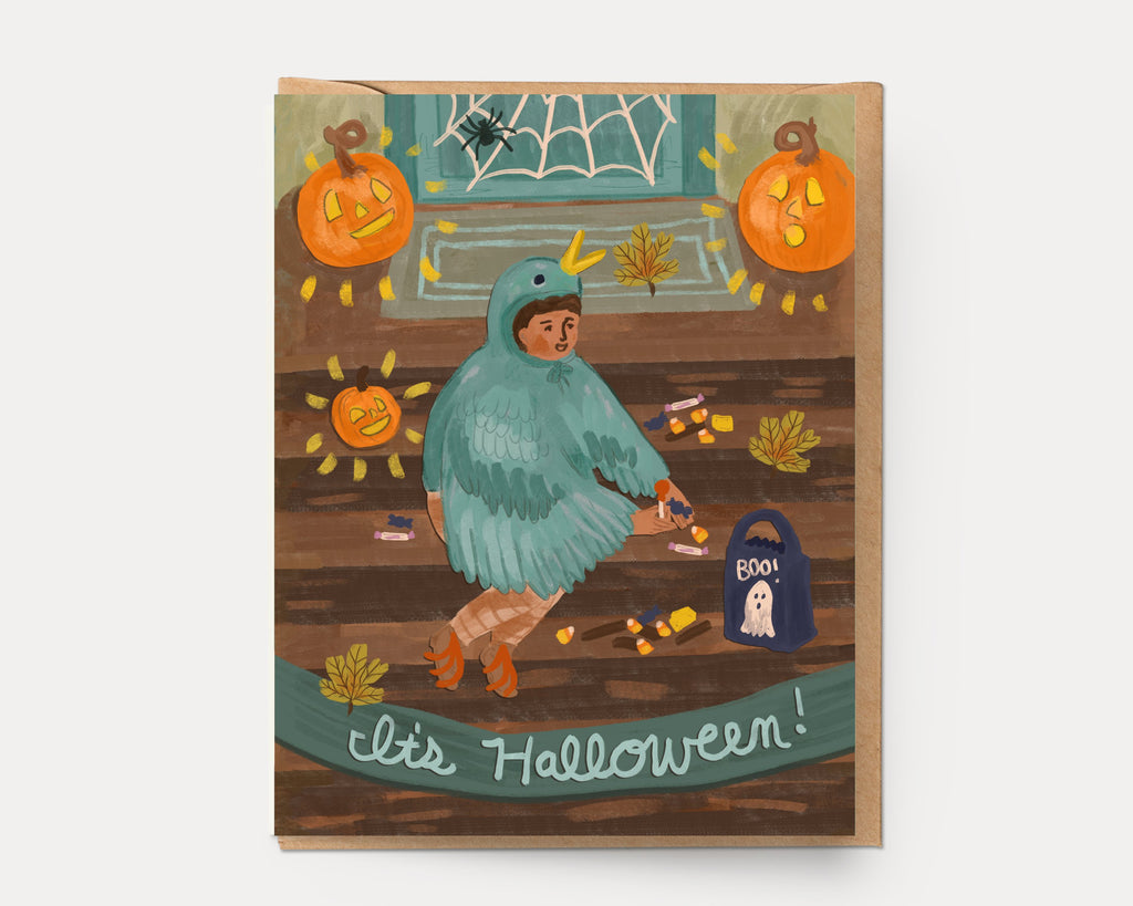 Ingrid Press Halloween Treats Greeting Card