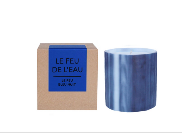 Le Feu de L'eau Black + Red Currant Candle