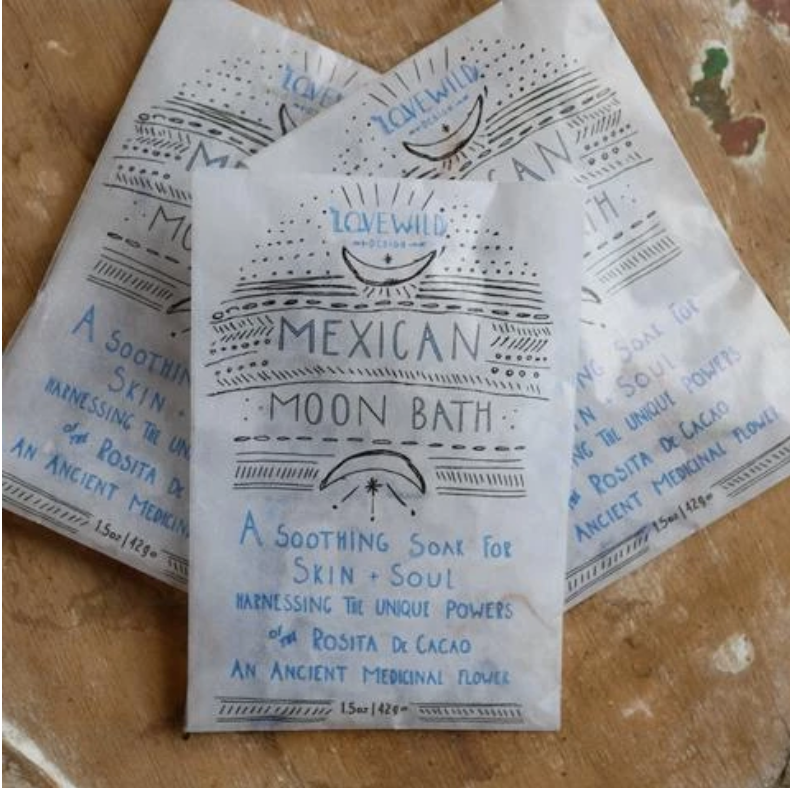 Lovewild Design Mexican Moon Bath Envelope