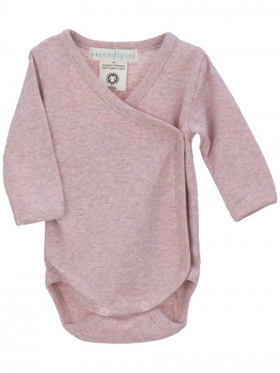 Serendipity Newborn Wrap Body Clay Pink Melange