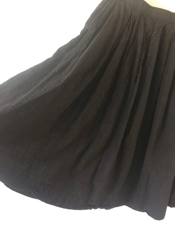 Auntie Oti Pleated Skirt