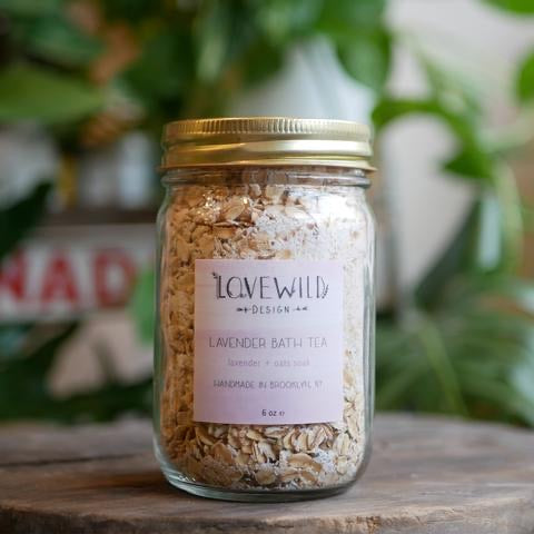 Lovewild Design Lavender Bath Tea