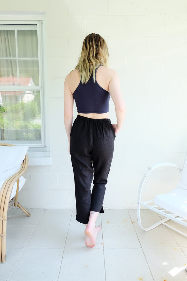 FLAX Pocketed Ankle Pants