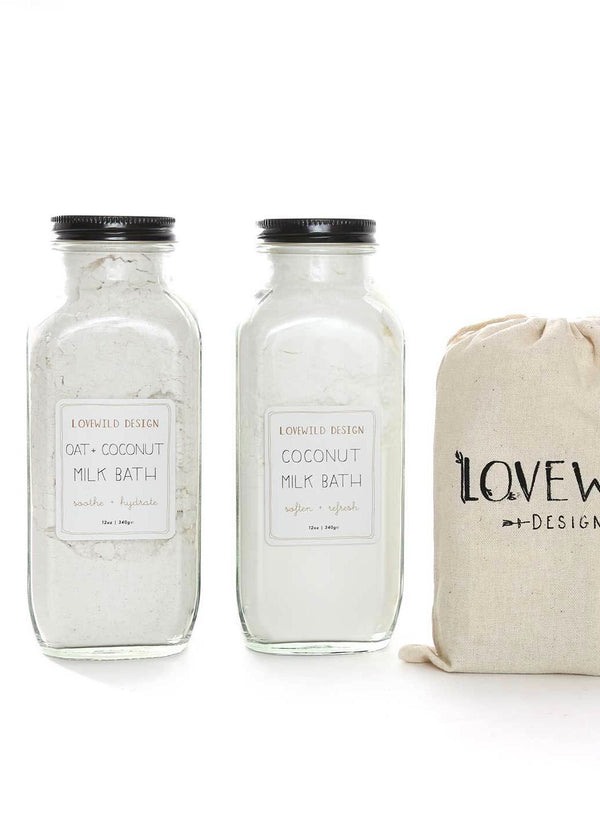 Lovewild Design Milk Bath Travel Set