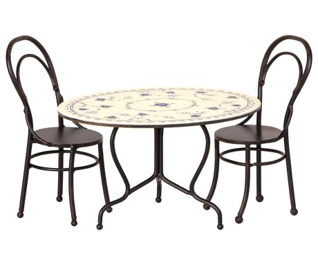Maileg Cafe Table Dining Set
