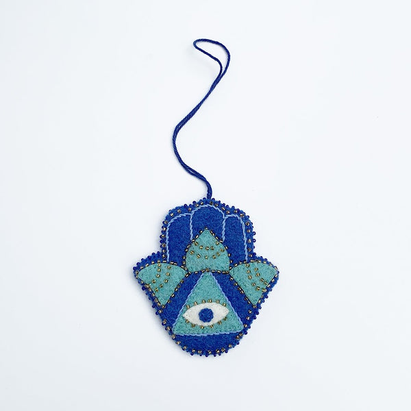 Craftspring Lotus Hamsa Ornament