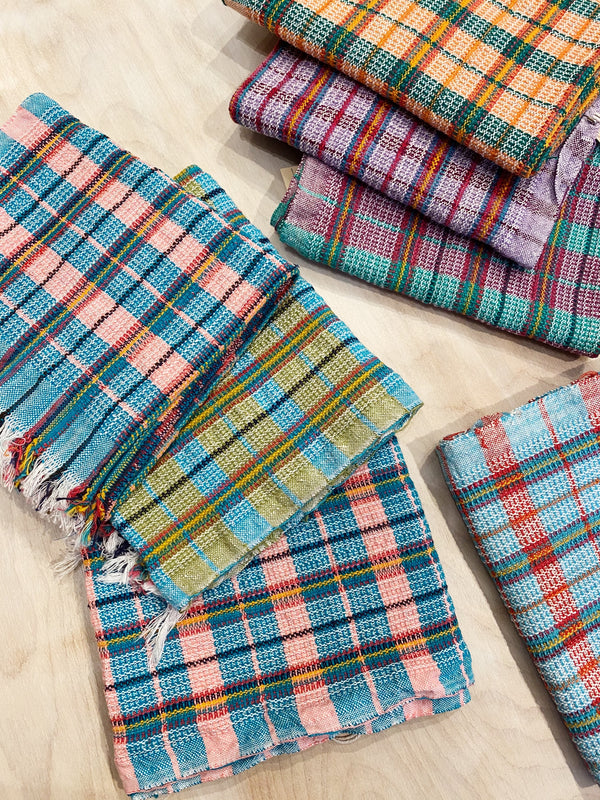 Hand woven kitchen towels