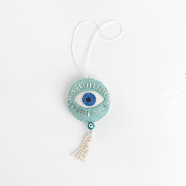 Craftspring Teal Spirit Eye Ornament