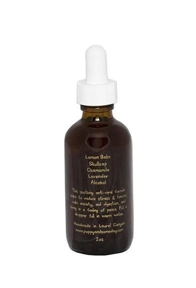 Poppy and Someday Peaceful Easy Feeling Tincture