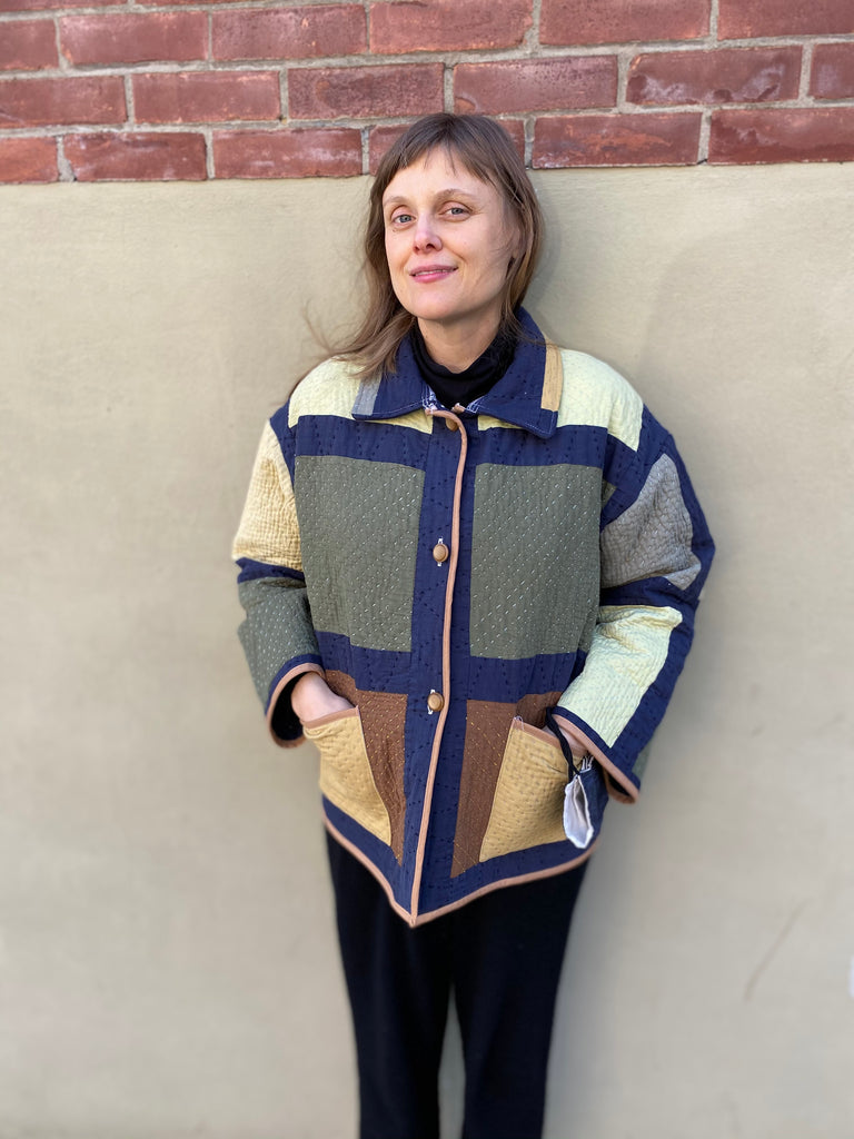 Farewell Frances Quilted Suki Coat