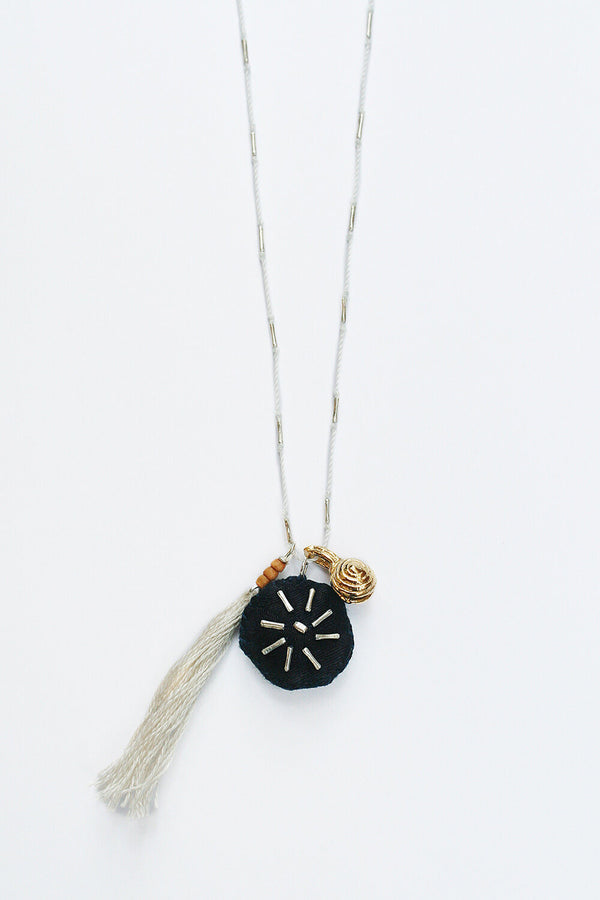 See Real Flowers North Star Talisman Necklace