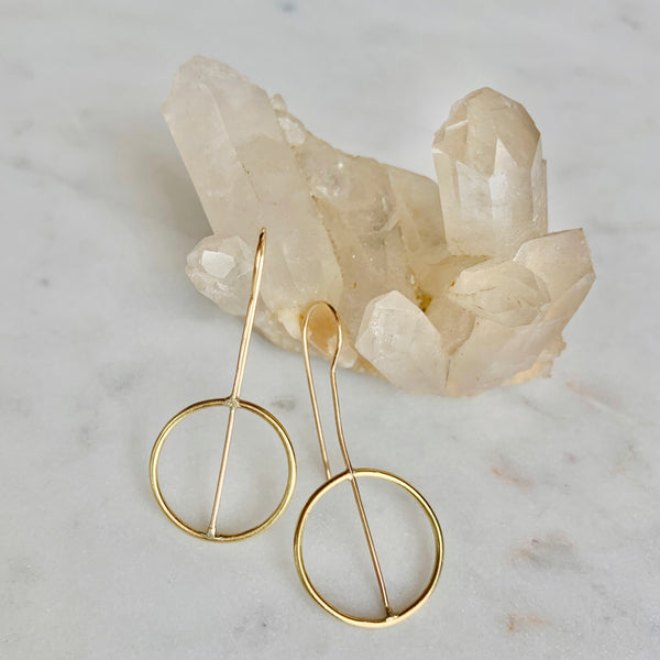 Hannah Keefe Divided Hook Earrings