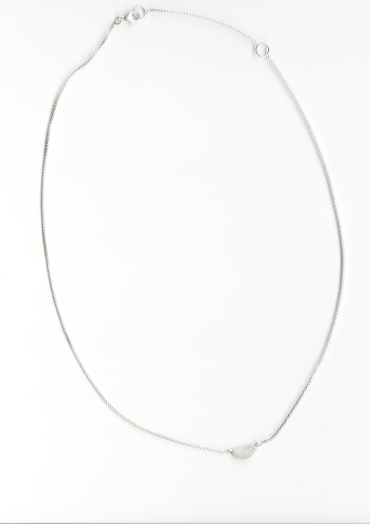 Saundra Messinger Horizontal Mini Half Circle Necklace