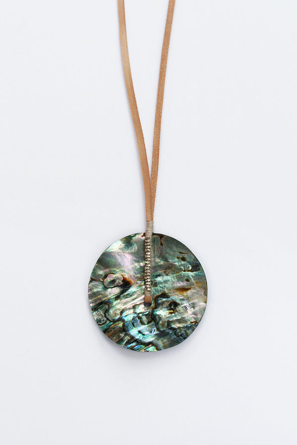 Abalone Orb Necklace