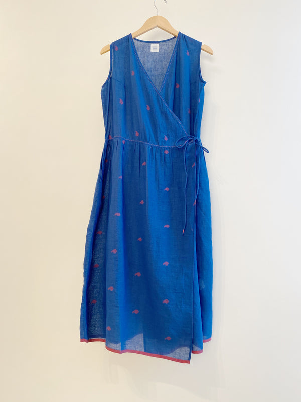 Jamdani Wrap Dress