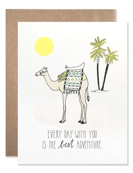 Every Day With You Is The Best Adventure Card