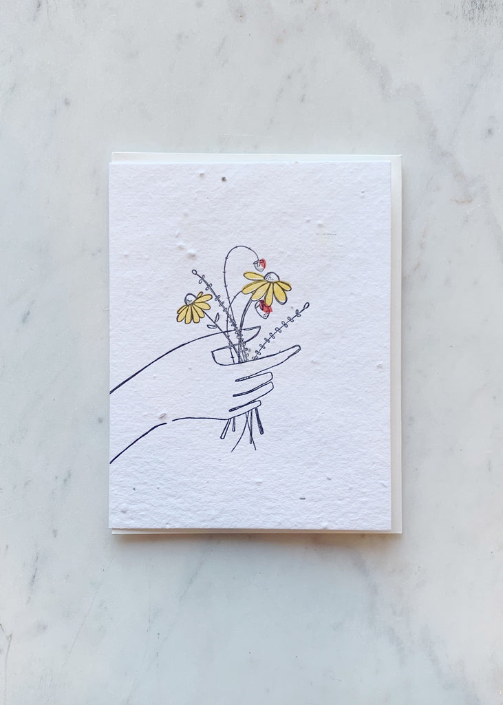 Lovewild Design Wildflower Bouquet Card