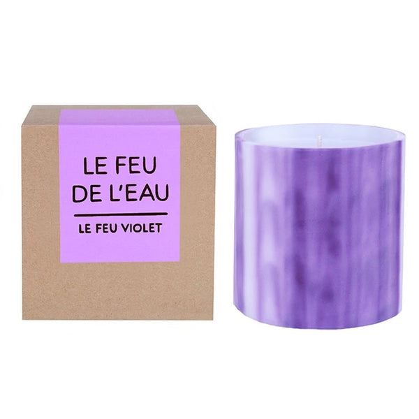 Le Feu de L'eau Grapefruit and Tobacco Candle