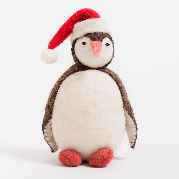 Craftspring Santa Penguin Ornament