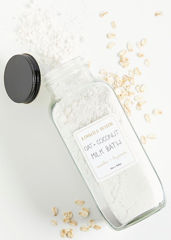Lovewild Design Oat + Coconut Milk Bath