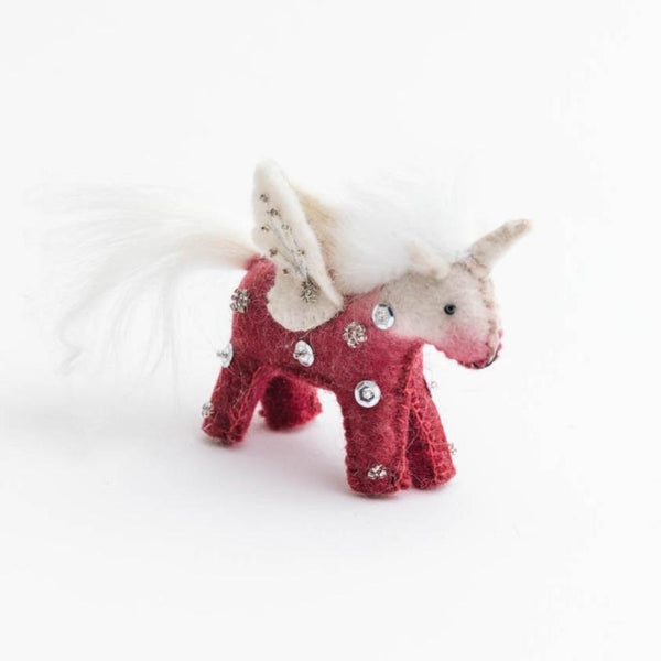 Craftspring Pink Kid Unicorn Ornament