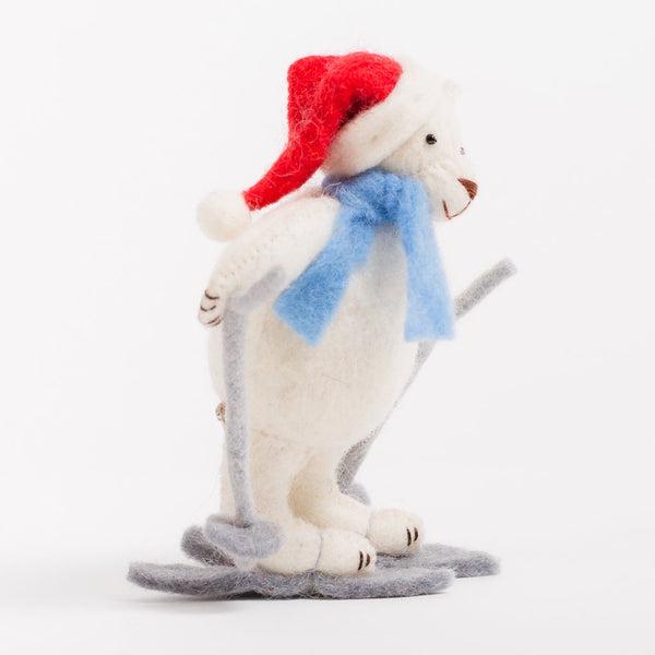 Craftspring Downhill Polar Pal Ornament