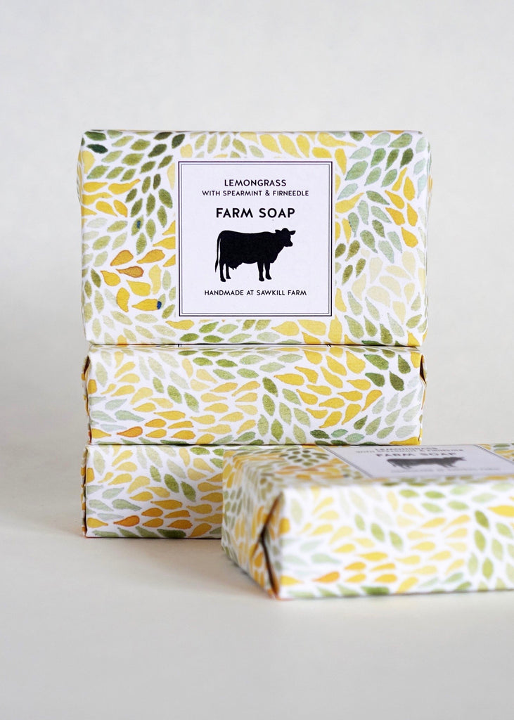 Sawkill Farm Lemongrass with Spearmint & Firneedle Soap