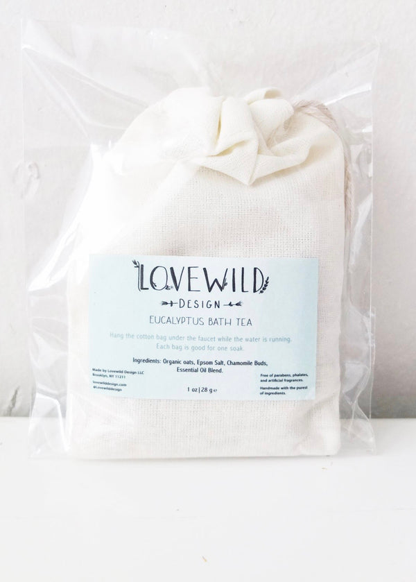 Lovewild Design Eucalyptus Bath Tea