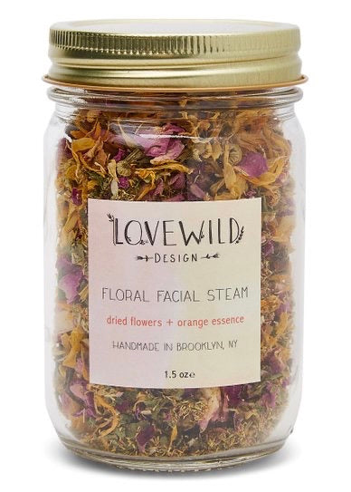 Lovewild Design Floral Facial Steam