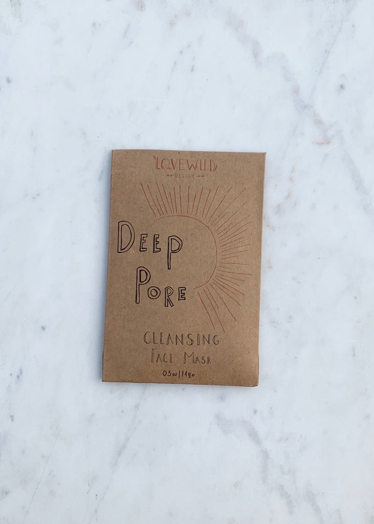 Lovewild Design Deep Pore Cleansing Face Mask