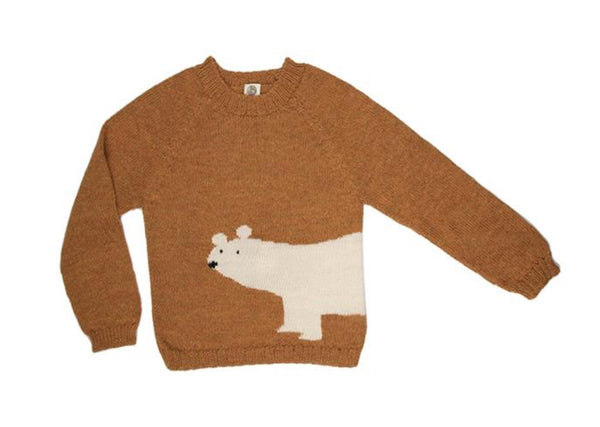 Nanay Alpaca Polar Bear Sweater
