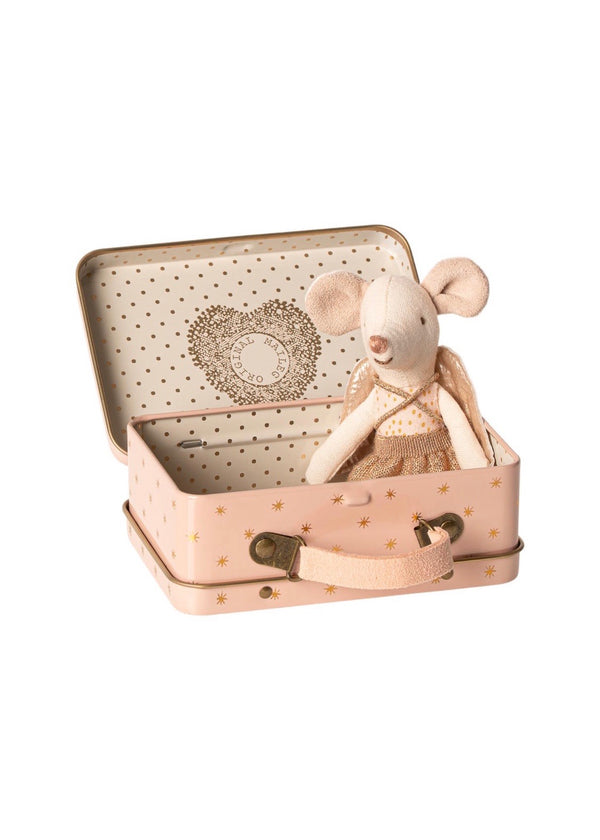 Maileg Guardian Angel in Suitcase Mouse