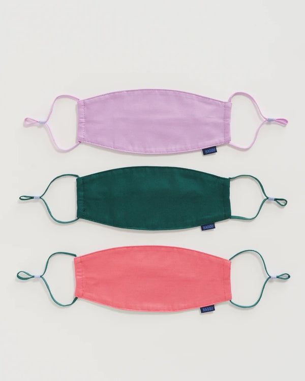 Baggu Fabric Mask Set: Loop - Watermelon Slice
