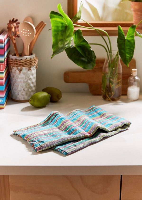 Auntie Oti Khadi Striped Gauze Towel