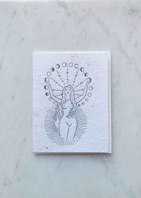 Lovewild Design Moons Rising Card