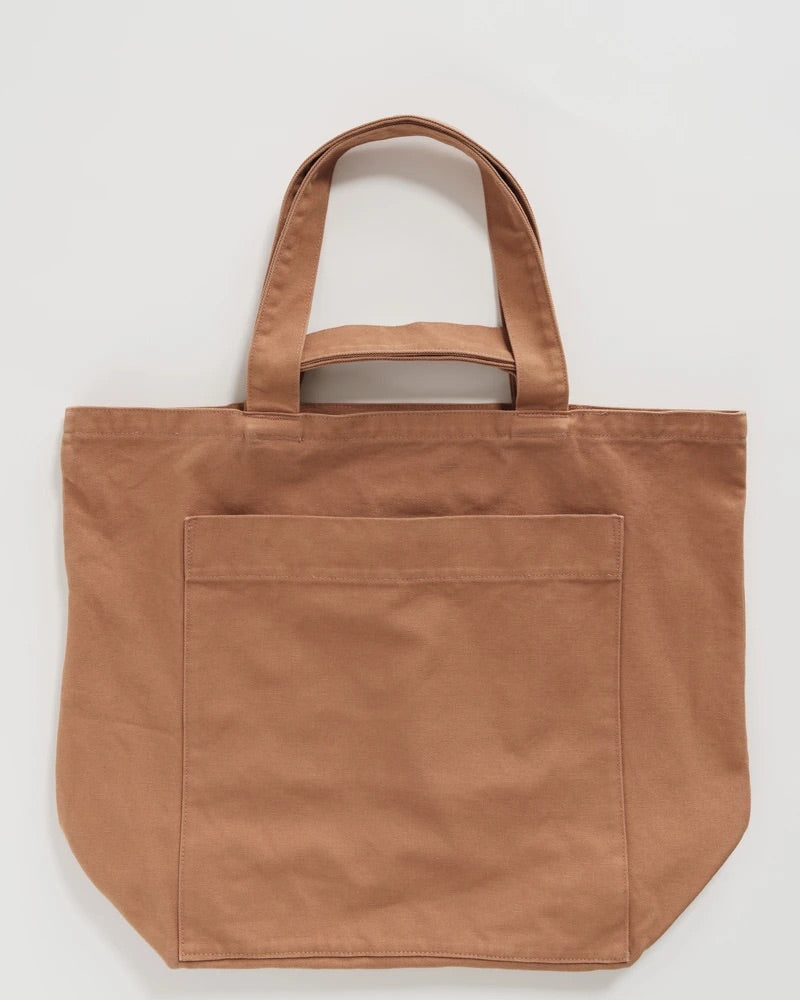 Baggu Duck Bag Giant Pocket Tote - Washed Adobe