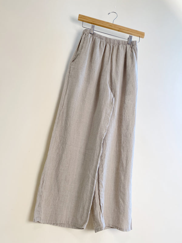 Floods Pants - Natural linen