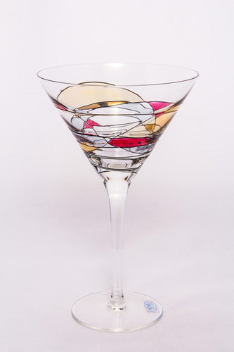 Crystal Martini Glass, Milano