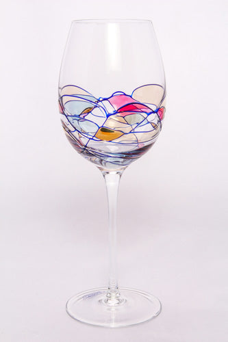 Crystal White Wine Glass, Milano
