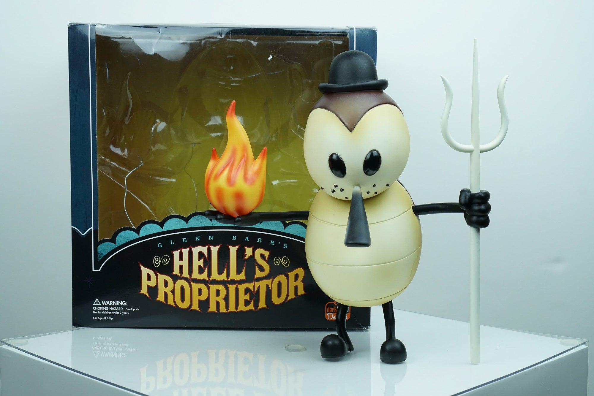 """Hell's Proprietor (Brown)"" by Glenn Barr x Dark Horse Deluxe"