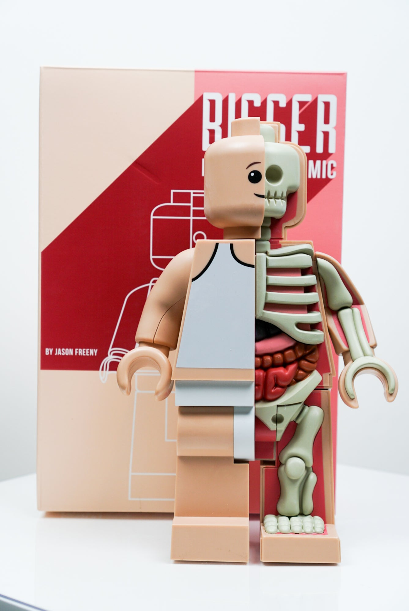 "Bigger Micro Anatomic 11"" Figure by Jason Freeny x Mighty Jaxx"