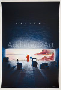 """Arrival"" (Artist Proof) by Kevin Tong"