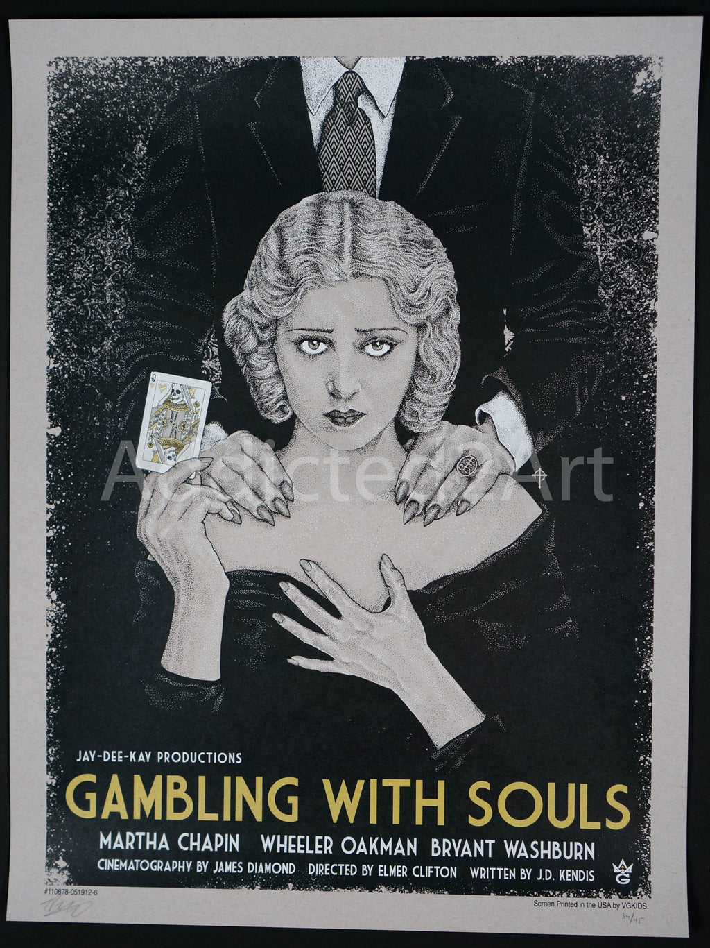 """Gambling With Souls (Gallery Edition)"" by Timothy Pittides"