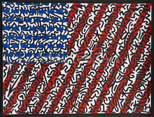 """American Flag"" by Armando Chainsawhands"