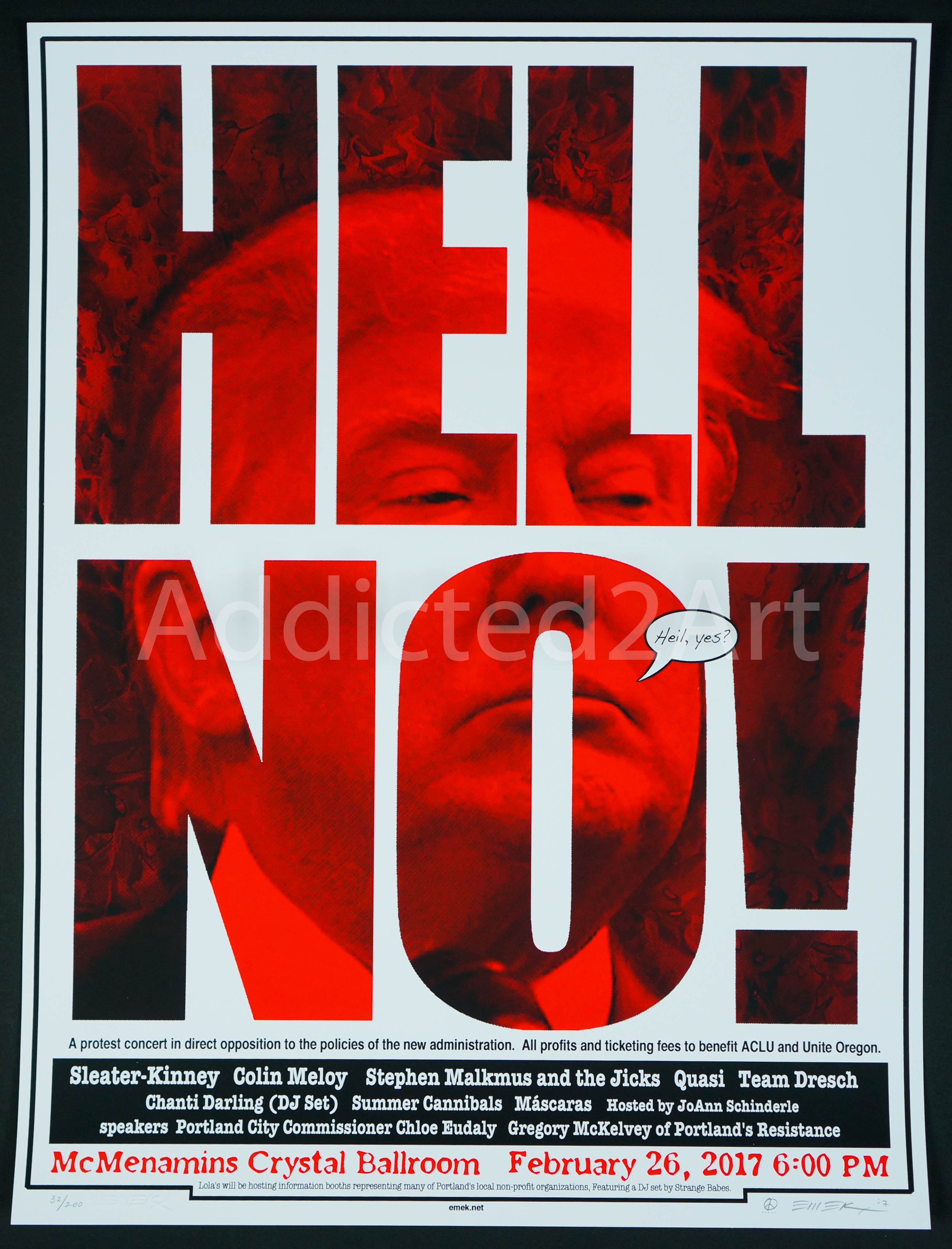 """Hell No!"" by Emek"