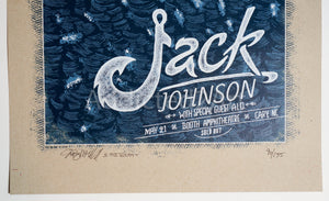 """Jack Johnson: Cary, NC"" (Regular Edition) by Dig My Chili"