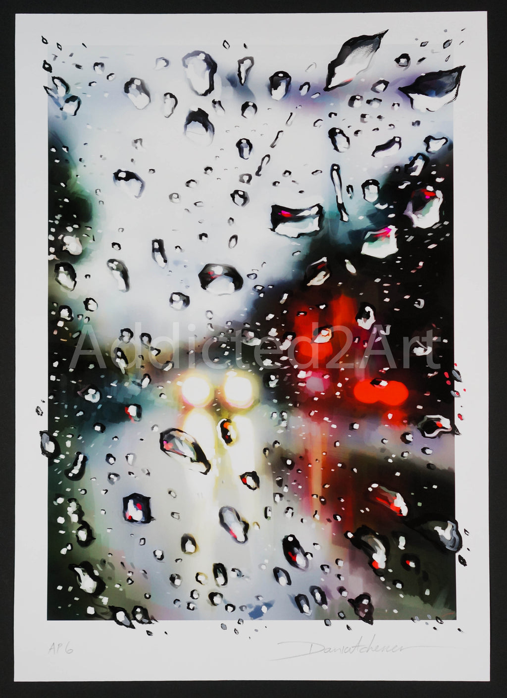 """Drips"" (Hand-Embellished Artist Proof) by Dan Kitchener"